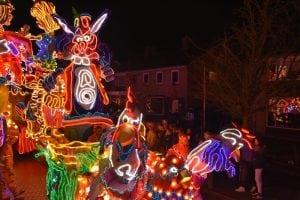 Verlichte Carnavalsoptocht